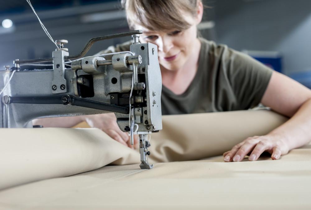 Het naaien van jouw maatwerk bootzeil